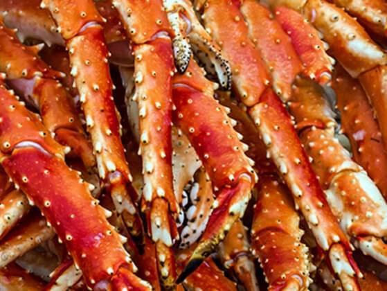 King crab legs?