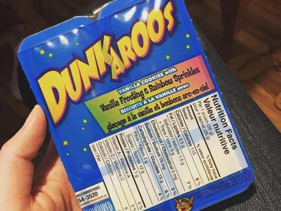 What about Dunkaroos?