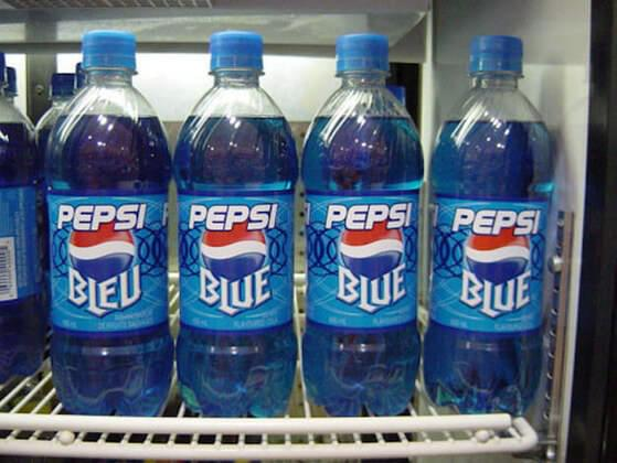 Did you ever crack open a Pepsi Blue?