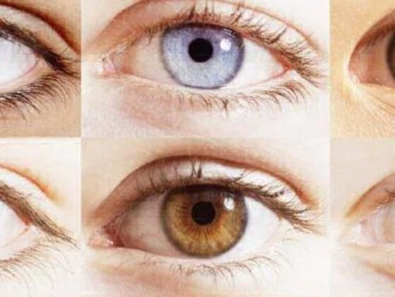 What Color your Eyes?