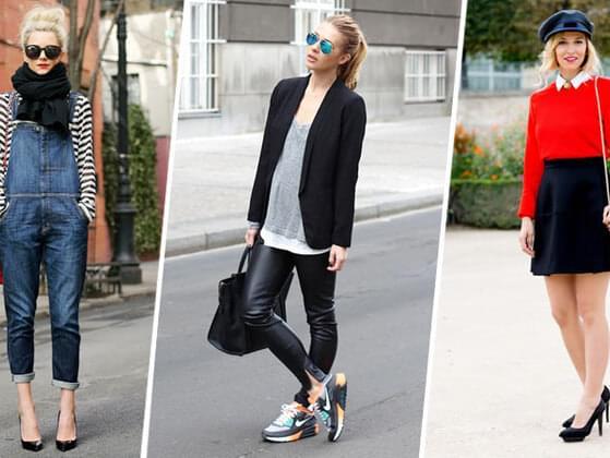 What outfit you're most likely to wear on a typical Saturday night?