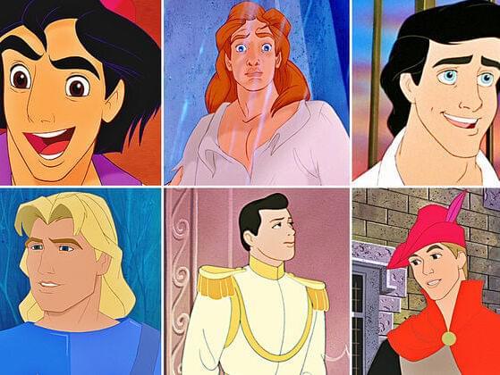 Pick your favorite Disney prince: