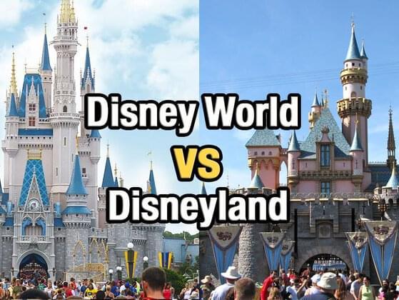 Disney World or Disneyland?