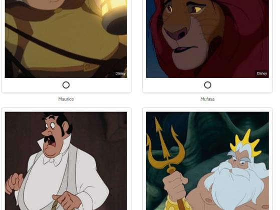 Pick a Disney parent !