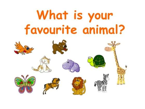 What is your favourite modern day animal?