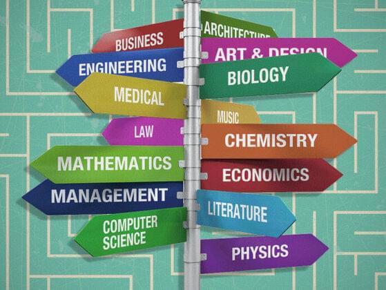Choose a college major: