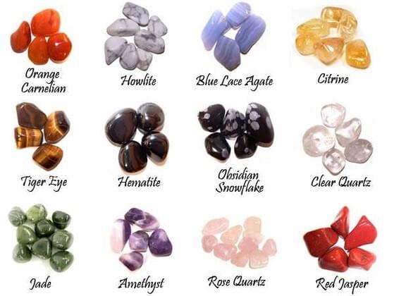 Choose a crystal: