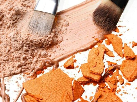 Would you rather drop your favorite foundation on the floor or have glitter eyeshadow explode in your bag?