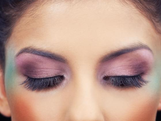 Would you rather be banned from ever wearing eye makeup or be banned from ever wearing lip makeup?
