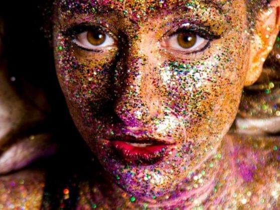 Would you rather go overboard on the glitter or forget to put on your foundation?