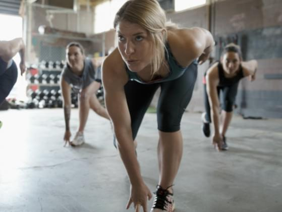 Pick a group fitness class: