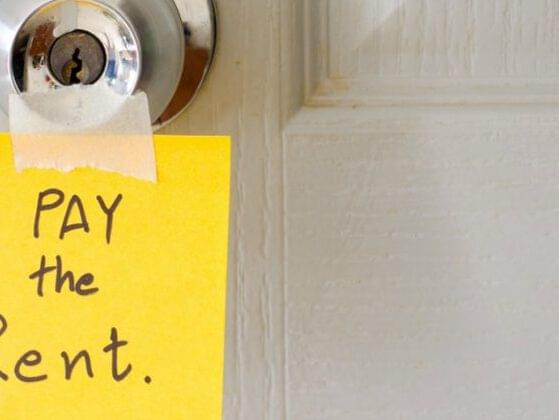 One of your roommates is constantly late on rent. How do you deal with it?