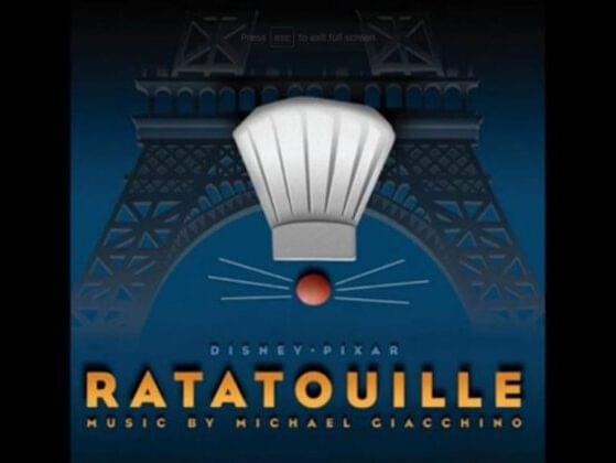 In 'Ratatouille' what is the first dish that Remy cooks?