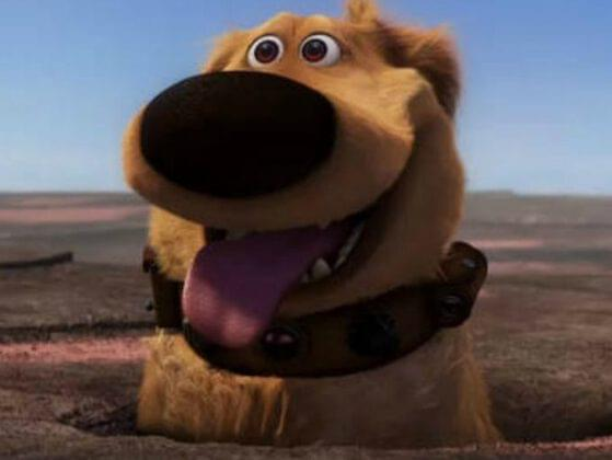 Would you rather have a talking dog like Dug from 'Up' or a ghost dog like Zero from 'The Nightmare Before Christmas'?