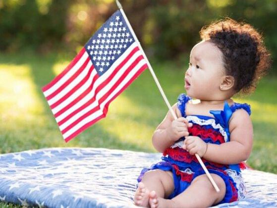Choose the perfect name for this patriotic 4th of July baby.