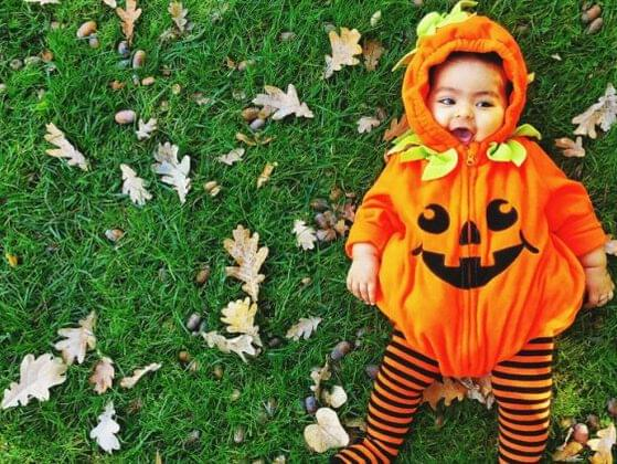 Choose a name for this spooky Halloween baby.
