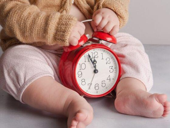 Babies born in the morning don't always grow up to be morning people! What time of day was your child born?