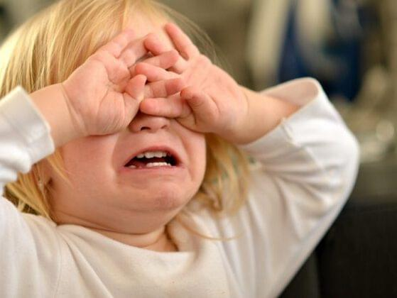 Does your child have temper tantrums?