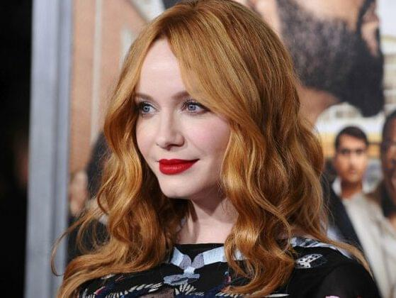 Christina Hendricks apparently doesn't age! How old is the striking redhead?