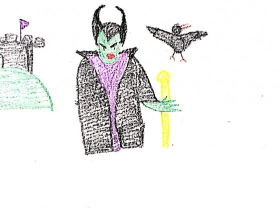 So sinister! Sometimes the bad gals and guys are more fun to look at. Who is this villain?