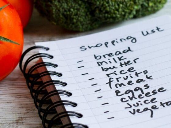 Do you make a list before you head in to the grocery store?