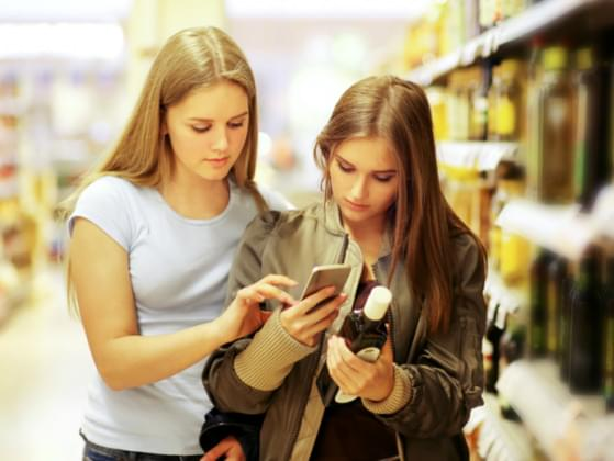 Do you check the price per weight while you're shopping?