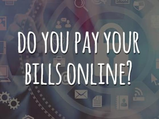Do you pay your bills online?