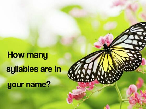 How many syllables in your name ?