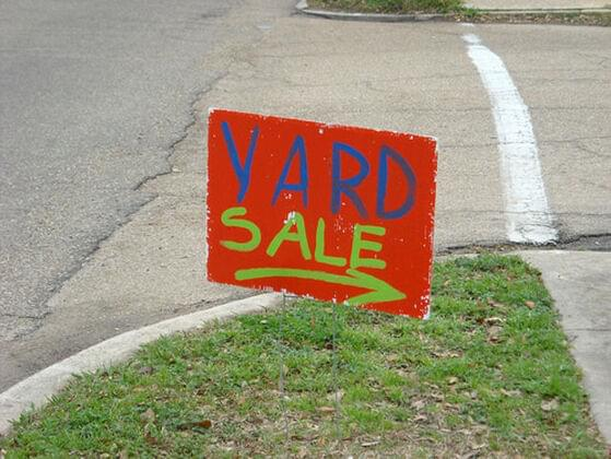 You stop by a yard sale. What do you buy?