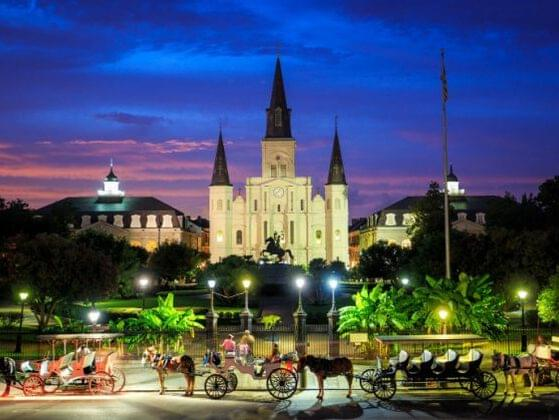 What sight would you most want to check out in New Orleans?