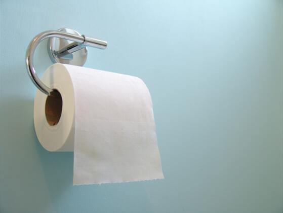 Do you sit or stand to wipe?