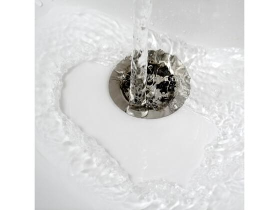 Do your drains ever get so clogged with hair and gunk that the water won't go down?