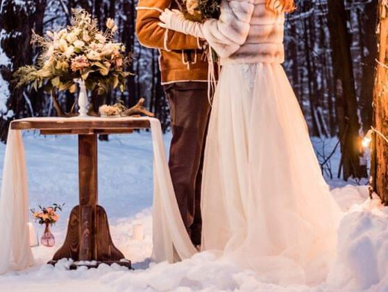 """One last question to help us pick out the perfect dress for you... What time of year will you be saying, """"I do?"""""""