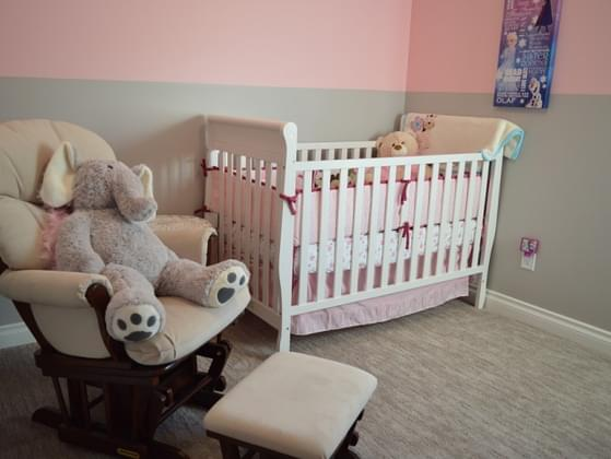 Do you have a space for a baby in your home?