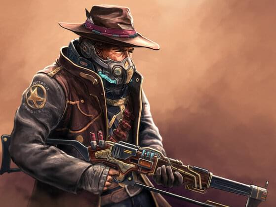Choose a sci-fi western: