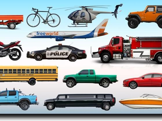 Choose a vehicle: