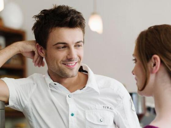 You are successfully seducing someone if you make them think: