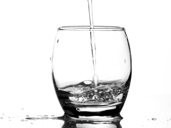 Would you say you're more glass half full or glass half empty?