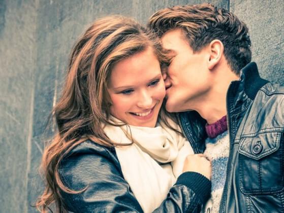 A good kisser is...