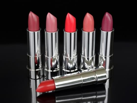 Pick a shade of lipstick.