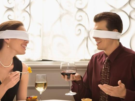 Have you ever been on a blind date?