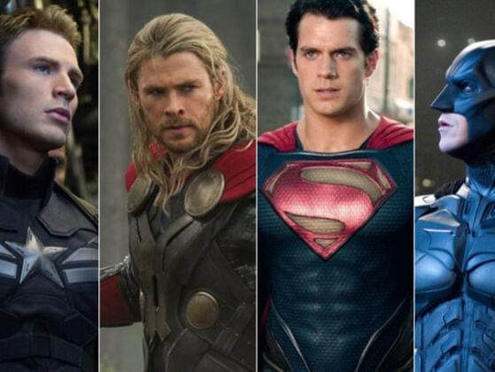 Choose a male superhero.