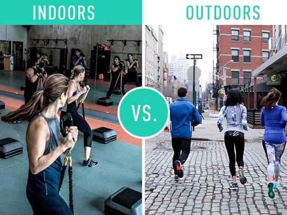 Would you rather be indoors or outdoors?