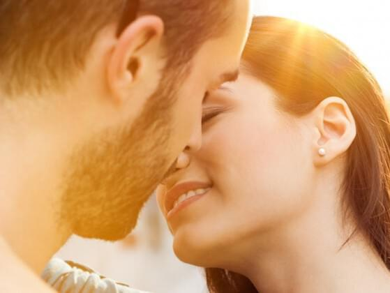 Do you kiss hello and goodbye when you see your partner?