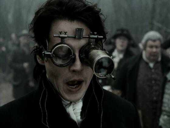 What's the name of Johnny Depp's character in Sleepy Hollow?