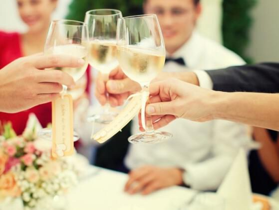 Your best friend asks you to make a toast at her wedding reception — how do you feel?