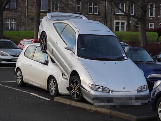 You hit a parked car, what happens next?