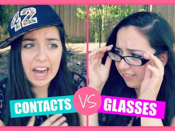GLASSES OR CONTACTS