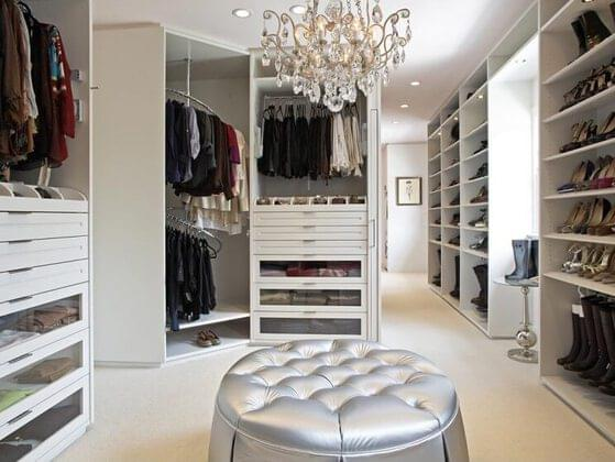 How important is it to you to have a walk-in closet?