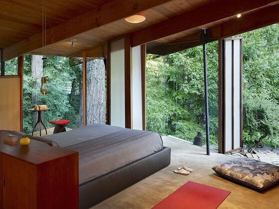 Zen or rustic?